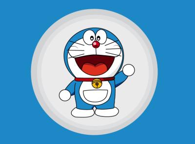 Doraemon vector illustration japanese cartoon doraemon