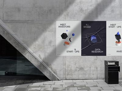 VC Swipe - Campaign branding website illustration ui designs ux transition minimal animation 3d animation