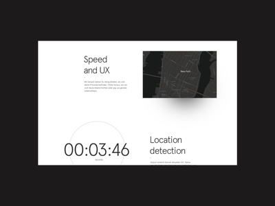 Swipsh - Feature Page timer locations website animation ux ui social media app mobile