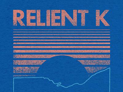 Where The Buffalo Roam texture sun lines futura merch retro buffalo ohio music band relient k