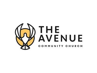 The Avenue Church #1 sun community memphis dove church mark icon kerning branding logo