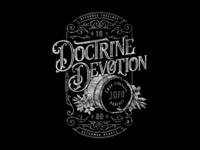 2018 Doctrine & Devotion Podcast Tee