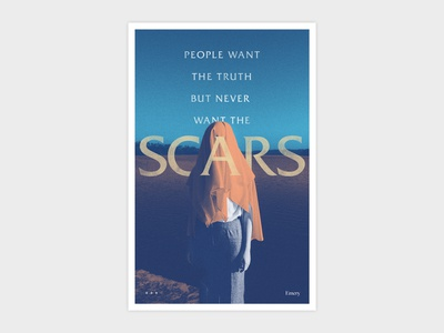 Emery Scars Poster