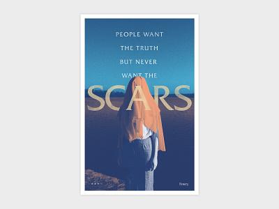 Emery Scars Poster music design emery
