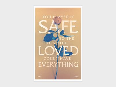 Emery Safe Poster music design emery