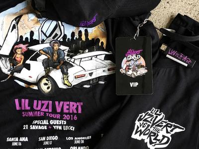Lil Uzi Vert vs the World Tour Merch