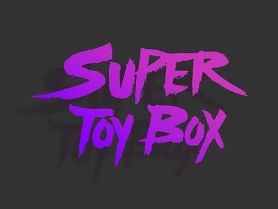 "Super Toy Box ""Bam"" Logo logo bam purple"