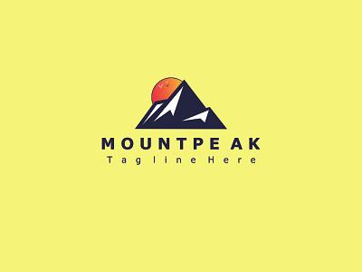 mount logo moutain business logo logotype mount travel parks and rec mountain logo mount logodesign