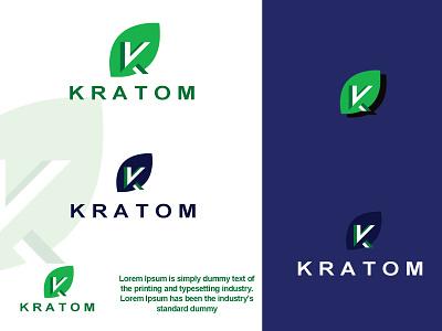 Kratom Logo 2022 2021 kratom logo design 3d animation ui logo branding motion graphics graphic design modern logo illustration flat design brand logo design business logo design brand kratom kratom logodesigner logotyp