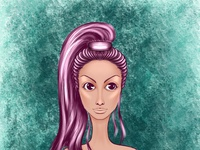 0447B4A7 9881 4A8D 982A C3B1C5972236 drawing art avatar procreate branding fashion girl icon design illustration