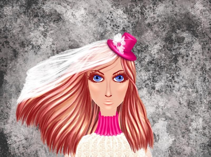 C77A9919 93D4 41E9 AC2A F34F2EEEACE4 1 art artwork girl fashion procreate illustration design