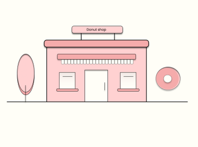 Donut shop best donut figma adobe illustrator ui minimal design