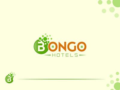 Bongo Hotels Minimalist Creative Logo Design bongo hotel hotel minimal logo logo logo maker creative logo branding brand design logo design logo designer logo concept minimal logo design
