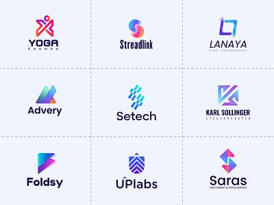 Best logo marks brand icons modern design branding mark minimal vector symbol identity icon monogram logo logo mark