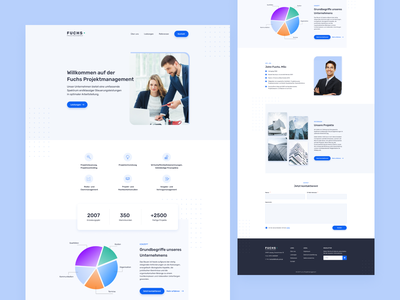 Homepage for a consulting company consulting business office webdesign uiux homepage website landingpage web design ux ui