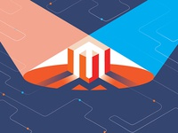 Magento homepage illustration