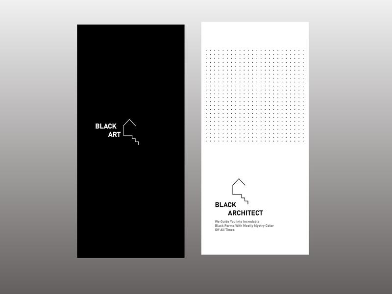 Black Art web app icon ux vector branding ui logo design illustration