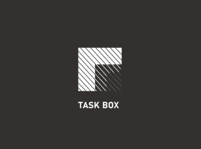 Logo Task Box logo design logos task book logo icon illustrator vector ui app web ux illustration design branding