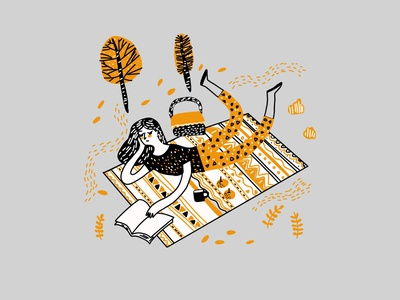 Illustration Of Reading Book App procreate booking book reading digital illustration digital painting digital art drawing digital artwork art illustration art illustrations illustraion design web illustration illustrator app ux