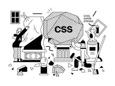 Illustration Of Landing Page Exploration logo design ui ux branding app illustration web vector minimal graphic design illustrator