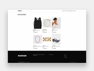 NADDAM web wordpress development wordpress design wordpress webdesigner web design webdesign integration illustration design