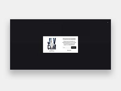 JLV Groupe newsletter pop-up web wordpress development wordpress design wordpress webdesigner web design webdesign integration illustration design