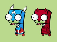 Super Hero Gir