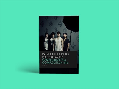An introduction to Photography: Camera Basics & Composition Tips lighting device mockup book camera exposure dslr portrait photography