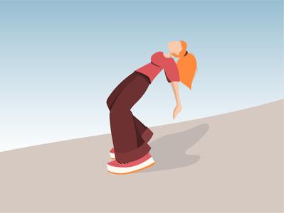 Girl girl power girl illustration girl people vectorart illustrations illustrator flat illustration flat vector