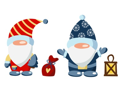Christmas gnomes childrens illustration gift snow winter christmas illustration christmas party christmas gnomes christmas christmas card gnomes doodle design vector illustrator illustration illustrations