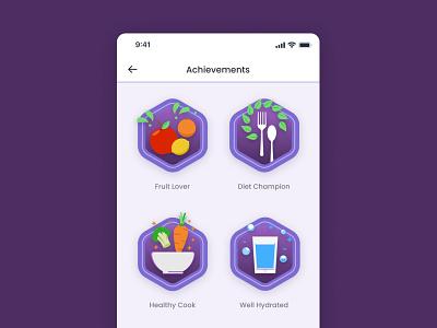 Daily UI 84: Badge daily ui 084 dailyui 084 achievement achievements badges badge daily 100 challenge ui dailyuichallenge daily ui dailyui