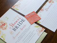 Bridal Shower Invitation Package