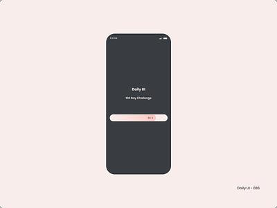 Daily UI 086 - Progress Bar progress bar 086 dailyui