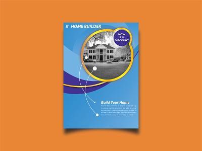 Home Builder Flyer Design. jasaflyers