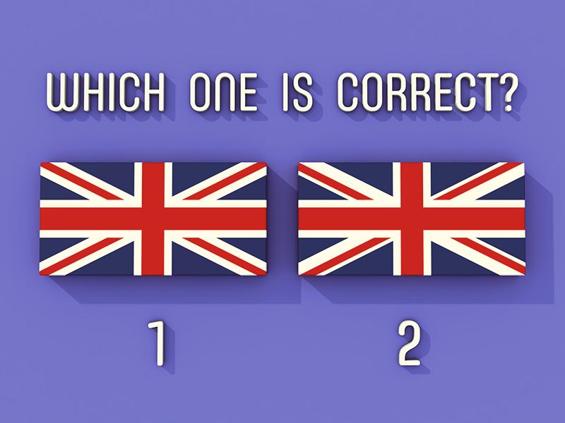 Union Jack - Mandela Effected? asymmetrical blue red survey england symmetrical me mandela effect flag british union jack
