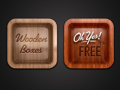 FREE Wooden Boxes