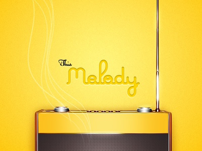 Melody yellow radio type