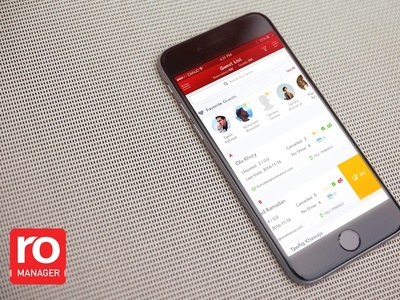 Restaurant Reservation Manager App - search