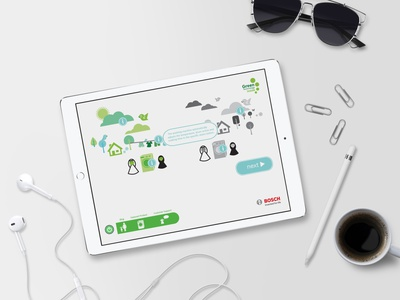 Bosch9 app design uidesign illustration