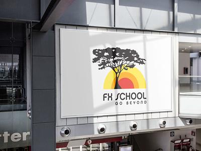 FX SCHOOL BRANDING stationery logo animation print branding illustration
