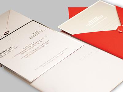 HSBC INVITATION CARD card design