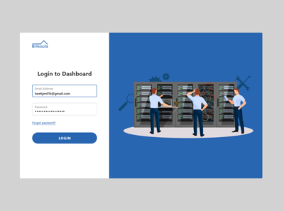 ADMIN LOGIN desktop application login page login uiux desktop design ui
