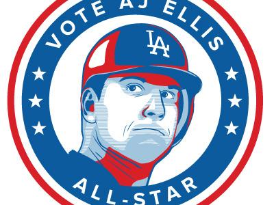 All Star illustration baseball