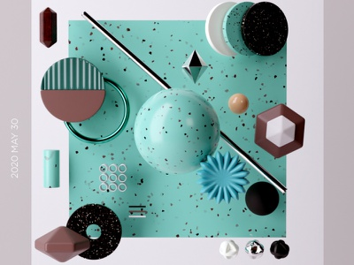 abstract c4d modeling blender3d blender