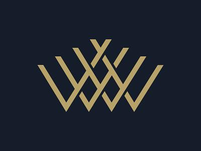 Weaving Company Logo gold logo w