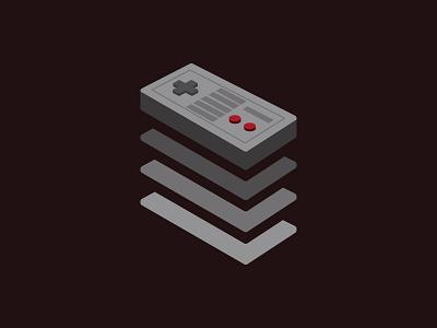 Data Layer Level Up game illustration data layer