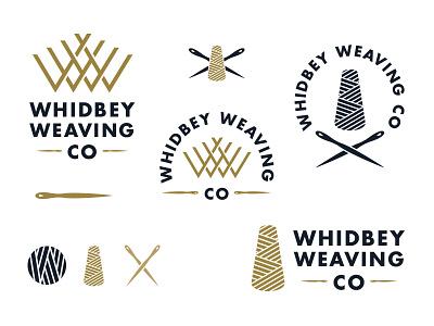 Keeping it flexible yarn needle logo weaving