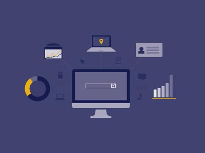 Success client data illustration