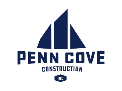 Locked another one up sails logo construction penn cove