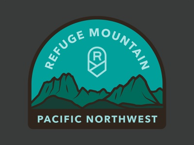 PNW Love illustration mountains pnw t-shirt